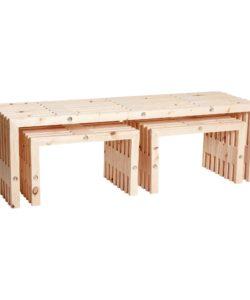 Trallemøbler, sæt